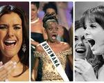 Thí sinh Miss Universe khóc, la thét, há hốc mồm khi là Hoa hậu