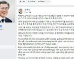 Tổng thống Hàn Quốc chúc mừng VN vô địch AFF Cup 2018 bằng tiếng Việt