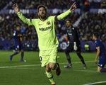 Messi lập hat-trick, Barcelona nhấn chìm Levante