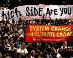 Chống biến đổi khí hậu: Nước lớn cần tăng trách nhiệm