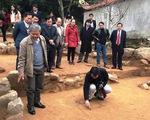 Khai quật khảo cổ học phát lộ trung tâm tôn giáo thời Trần