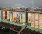 Hàn Quốc lập kỷ lục Guinness về bức tranh lớn nhất thế giới