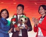 Quang Hải giành Quả bóng vàng Việt Nam 2018