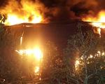 Cháy lớn tại công ty sản xuất bao bì ở Cần Thơ