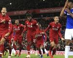 'Siêu dự bị' Origi giúp Liverpool hạ Everton ở phút 90+6