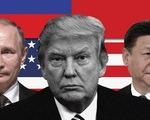 Đa đoan mối quan hệ tay ba Mỹ - Nga - Trung