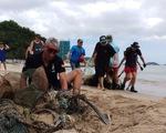 Bãi biển sạch - món quà năm mới cho Nha Trang