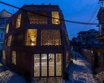 Người thiết kế 'nhà hang' ở Hà Nội được trao giải Kiến trúc sư của năm