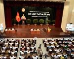 TP.HCM lấy phiếu tín nhiệm 30 lãnh đạo