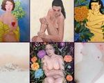 Đừng ngại ngùng thưởng thức tranh nude