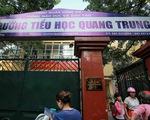 Tạm đình chỉ cô giáo yêu cầu học sinh tát bạn ở Hà Nội