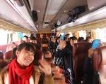 Chuyến xe miễn phí đưa sinh viên Hà Nội về quê