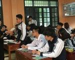 Hà Nội sẽ khảo sát học sinh lớp 12 như thi THPT quốc gia