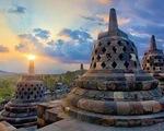 Ngôi đền Borobudur tuyệt tác ở Indonesia