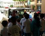73 học sinh nhập viện nghi do ngộ độc sữa học đường