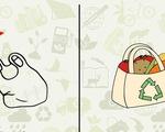 Loại bỏ túi nilon: hành động nhỏ