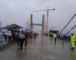 Hợp long cầu Bạch Đằng nối Hải Phòng và tỉnh Quảng Ninh