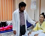 Cắt khối u buồng trứng 3kg cho một bệnh nhân Đắk Nông