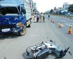 Xe tải mất thắng gây tai nạn liên hoàn trên quốc lộ 13