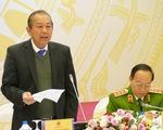 Phó thủ tướng Trương Hòa Bình chỉ đạo về thanh tra đất đai tại TP.HCM
