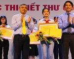 """Học sinh lớp 8 là quán quân cuộc thi """"Viết thư quốc tế UPU"""" tại Việt Nam"""