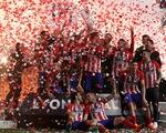 Atletico Madrid ăn mừng chức vô địch Europa League