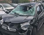 Ném đá vỡ kính xe hơi, lãnh án 3 năm tù