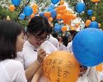 Lễ chào cờ đặc biệt chia tay tuổi học trò
