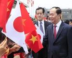 Nhật bắn 21 phát đại bác chào mừng Chủ tịch nước Trần Đại Quang