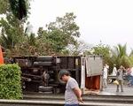 4 xe tông liên hoàn trên cao tốc Trung Lương, 1 người chết