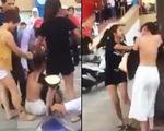 Đánh ghen, lột trần 1 phụ nữ rồi quay clip đăng Facebook