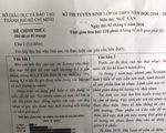 Bài giải đề văn thi lớp 10 TP.HCM