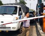 Không chịu nộp phí, tài xế tông barie BOT Tân Đệ qua trạm