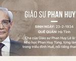 Giáo sư Phan Huy Lê: Nhân cách một nhà sử học chân chính