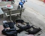 Bắt 2 nghi phạm trộm chó trên đường đi tiêu thụ