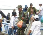 2.000 du khách kẹt ngoài đảo Lý Sơn đã vào bờ