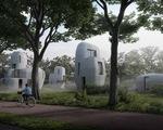 Video ngôi nhà xây bằng công nghệ in 3D đầu tiên trên thế giới
