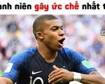 Pháp thắng, Mbappe khiến dân mạng tức vì câu giờ