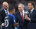 Ông Trump chúc mừng Pháp vô địch World Cup 2018