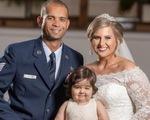 Bé gái 3 tuổi bị ung thư làm phù dâu cho ân nhân hiến tủy
