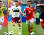Top 20 cầu thủ đạt tốc độ nhanh nhất tại World Cup 2018