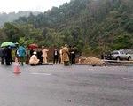Xe tông chết 5 công nhân đang thi công trên đường Hà Giang