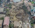 Video hiện trường vụ nổ ở Bắc Ninh nhìn từ trên cao