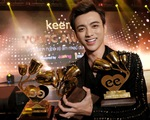 Soobin Hoàng Sơn lập hattrick tại Keeng Young Awards 2017