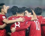 Bảng xếp hạng mới nhất của FIFA: Việt Nam hơn Thái Lan 20 bậc