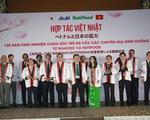 Nutifood hợp tác tập đoàn Nhật Bản kinh doanh sản phẩm dinh dưỡng trẻ em