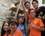 Sinh viên giúp việc ngày giáp tết lấy tiền làm từ thiện