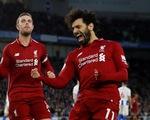 Salah ghi bàn duy nhất, Liverpool bỏ xa M.C 7 điểm