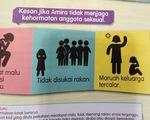 Dư luận Malaysia chỉ trích sách giáo dục giới tính cho học sinh
