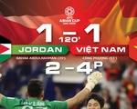 Trận đấu kịch tính: tuyển Việt Nam hoàn toàn